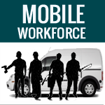 Mobile computing and mobile workforce for