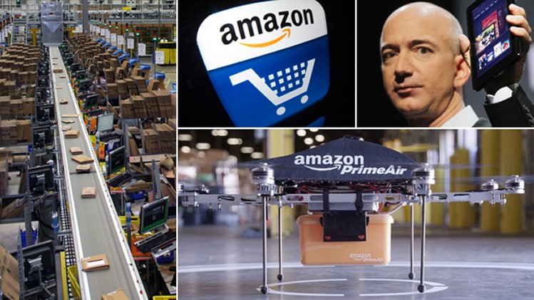 Amazon's Retail Revolution and its effects in the UK
