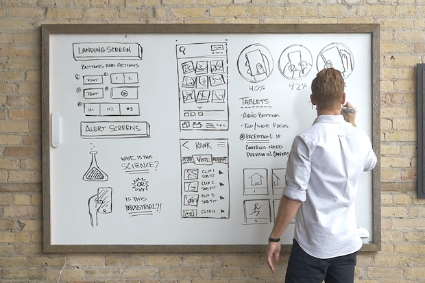 See the Whiteboard of the Future that uses next generation Technology