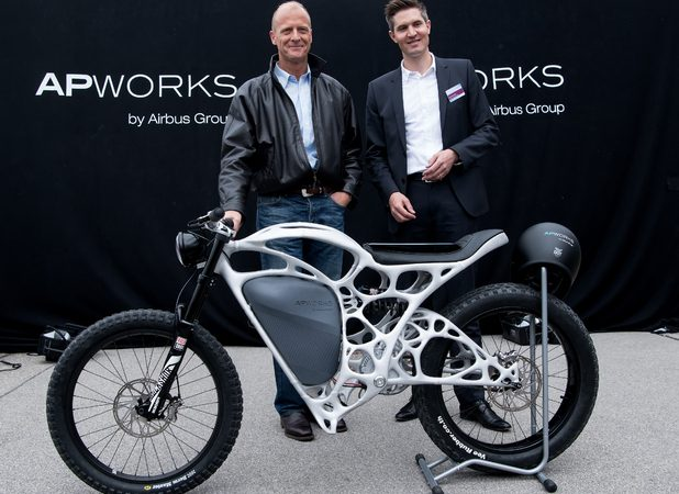 World's First 3-D Printed Motorbike Unveiled Recently