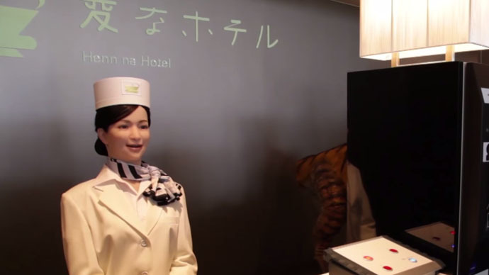 Inside The Japanese Hotel Staffed By Robots Technology