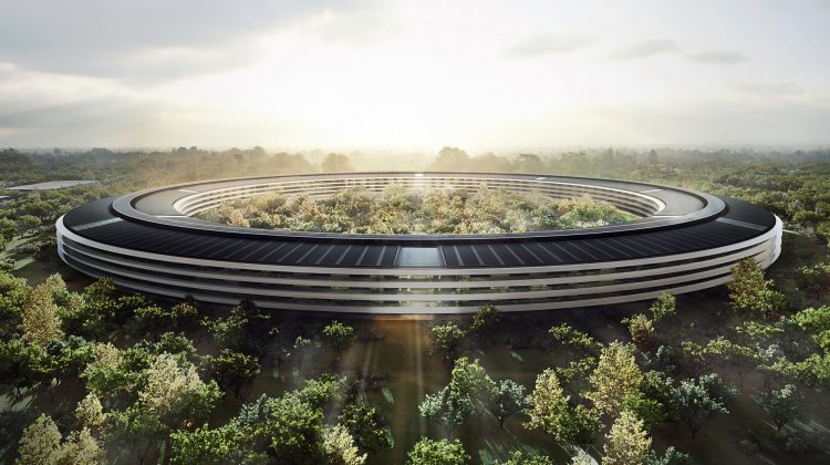 Take a Video Drone flyover of the Amazing new Apple Campus