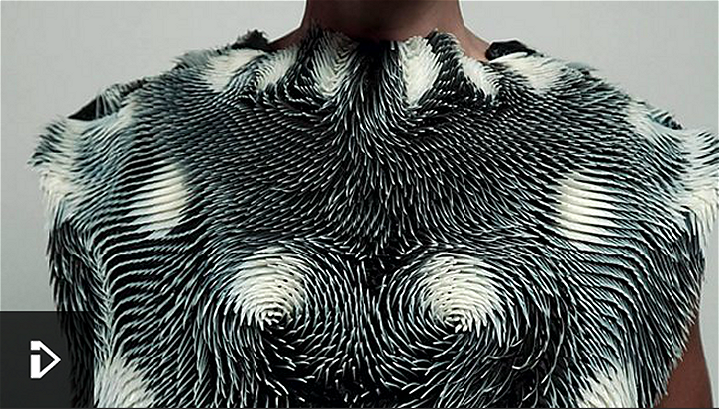 The 3D Printed Clothing that Reacts to your Environment