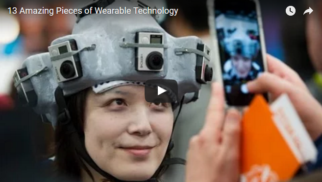 13 Amazing Pieces of Wearable Technology
