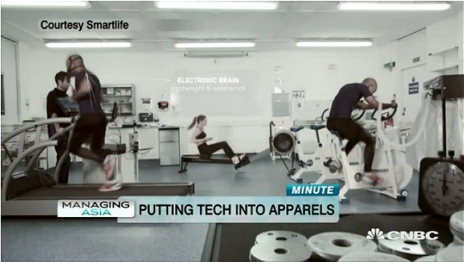 This Manufacturer makes Sportswear with Wearable Sensors