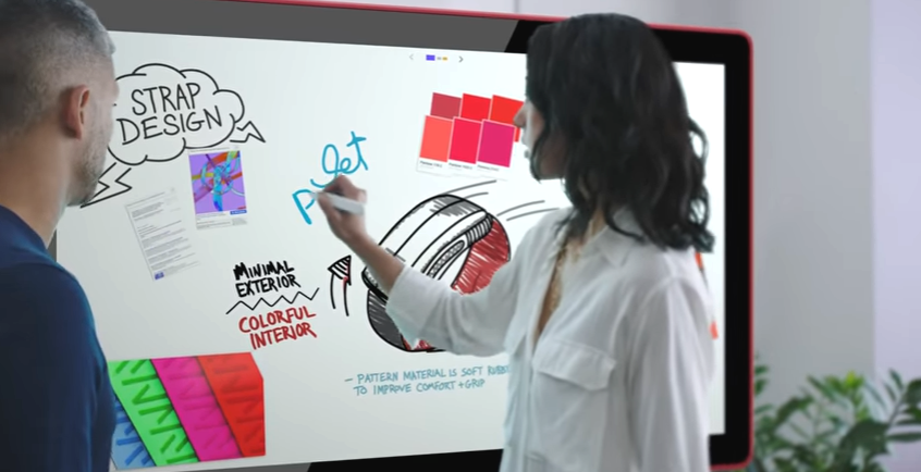 a digital collaborative whiteboard