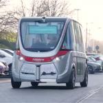 Driverless Bus makes UK Debut at Heathrow Airport