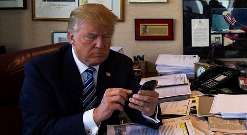 Trump Tweeting