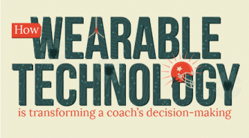 How Wearable Tech is Transforming a Coach's Decision-Making #Infographic