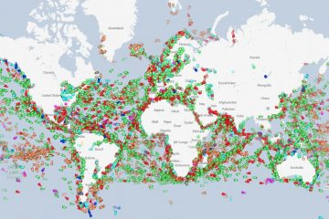 World's Ships in Real Time