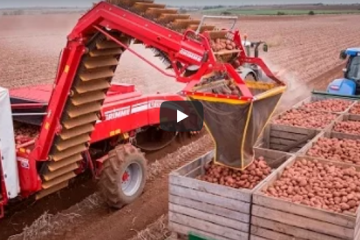 Smart Farming, Agriculture Technology employed by todays Potato Growers